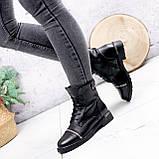 Ботинки женские Karel черные ЗИМА 2771, фото 6
