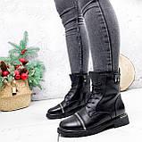 Ботинки женские Karel черные ЗИМА 2771, фото 8