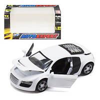 """Машинка металлическая """"Audi R8"""" (белая) LF23079"""
