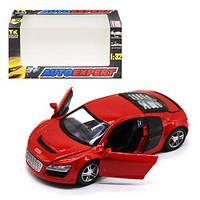 """Машинка металлическая """"Audi R8"""" (красная) LF23079"""