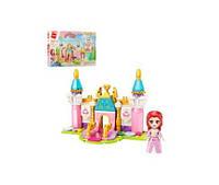 Конструктор Qman 2613-1  замок принцессы, фигурка, 131дет, в кор-ке, 22-14,5-4,5см(Qman 2613-1)