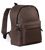 Спортивный городской рюкзак City коричневый (рюкзаки молодежные, велосипедный рюкзак, рюкзаки городские)