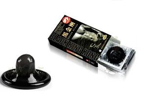 Презервативы черного цвета Black King Kong 10 шт оригинал