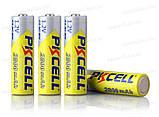 Аккумулятор PKCELL АА 2800mAh 4шт в блистере реальная емкость, фото 6