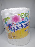 "Полотенце бумажный ""Malvar"" 2 слоя (1шт / 100м) 6шт / меш"