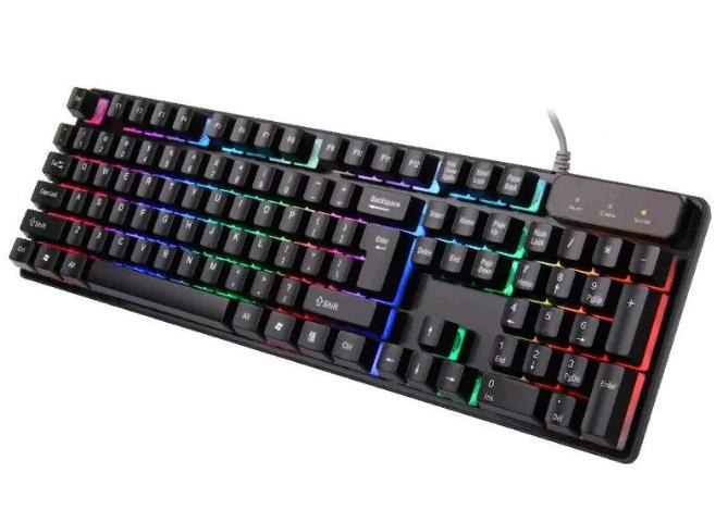 Геймерская игровая клавиатура с подсветкой LANDSLIDES KR-6300