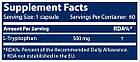 Витмины и минералы Scitec Nutrition Tryptophan (60 caps), фото 2