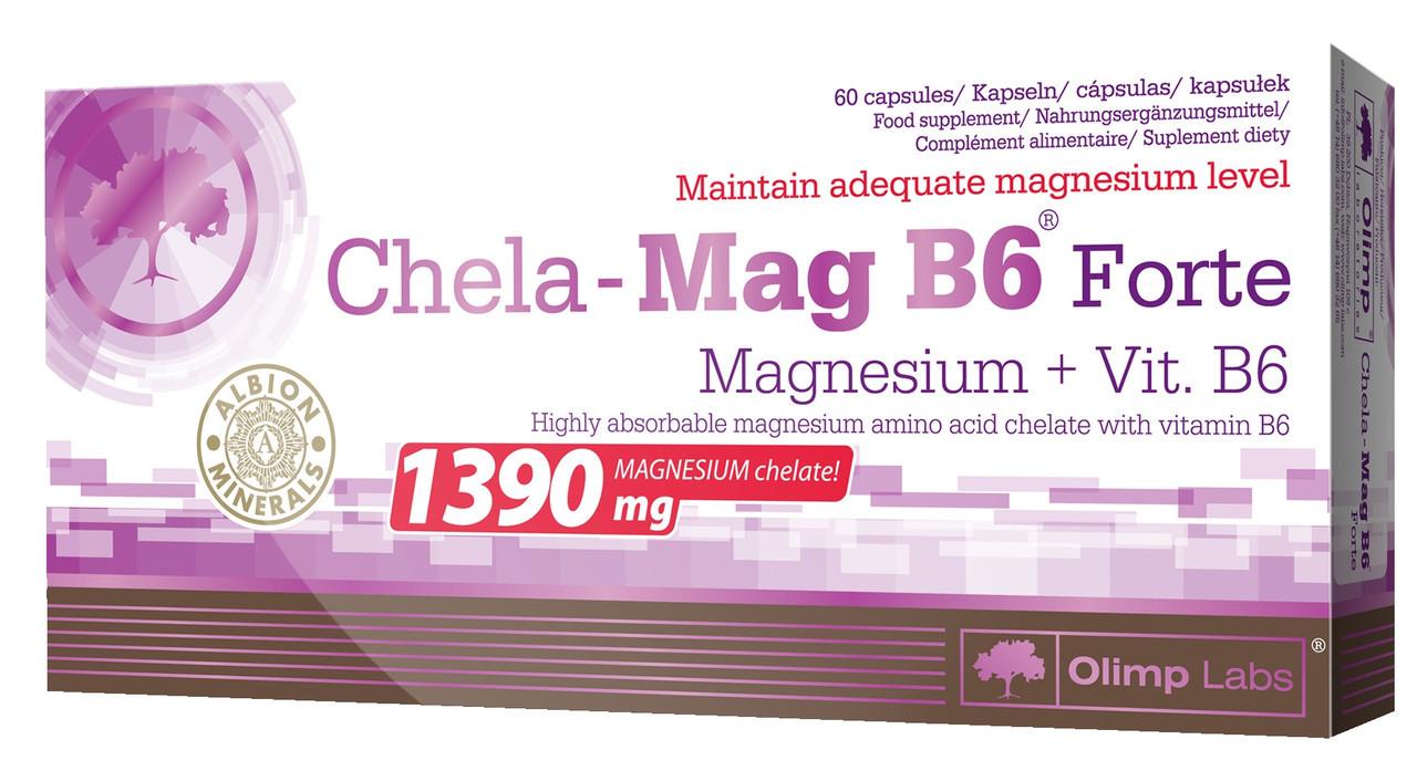 Витамины и Минералы Olimp Chela-Mag B6 Forte 60 caps