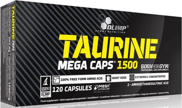 Аминокислоты Olimp Taurine Mega Caps 120 caps