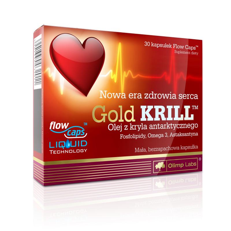 Витамины и Минералы Olimp  Gold Krill 30 caps