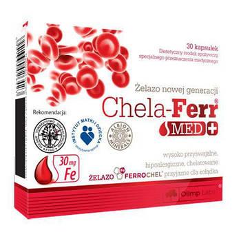 Витамины и Минералы Olimp Chela-Ferr Med + (30 caps)