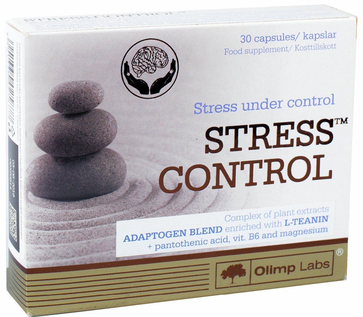 Витамины и Минералы  Olimp Stress control (30 caps)