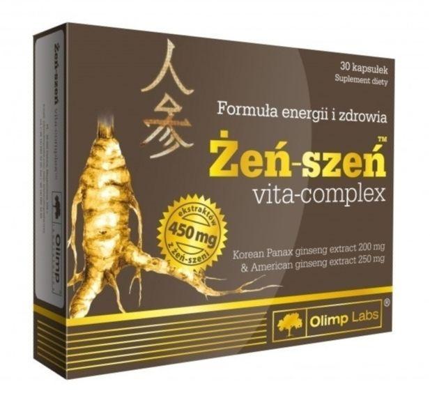 Витамины и Минералы Olimp Ginseng Zen Szen 30 caps