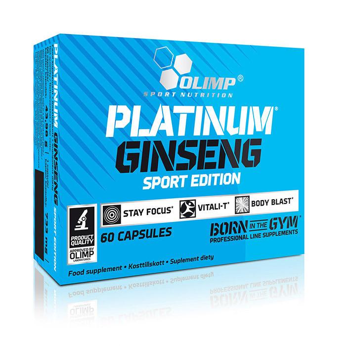 Витамины и Минералы Olimp Platinum Ginseng Sport Edition (60 caps)