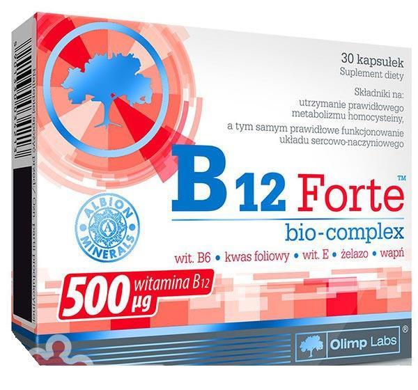 Витамины и Минералы Olimp B12 Forte Bio-Complex (30 caps)