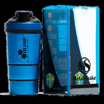 Шейкер Olimp Sport Nutrition Шейкер Olimp Metal 600 ml - синій