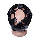 Боксерський шолом тренувальний PowerPlay 3043 S Чорний, фото 3