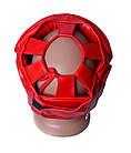 Боксерський шолом тренувальний PowerPlay 3043 XL Червоний, фото 5