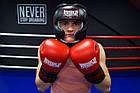 Боксерський шолом тренувальний PowerPlay 3065 Чорний L/XL, фото 8