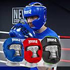 Боксерський шолом тренувальний PowerPlay 3068 PU + Amara Чорно-Зелений XS, фото 10