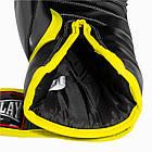 Боксерські рукавиці PowerPlay 3074 чорні 12 унцій, фото 4