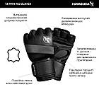 Рукавички для MMA Hayabusa T3 - Чорні L 4oz (Original), фото 8