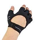 Рукавички для фітнесу і важкої атлетики PowerPlay 2004 жіночі чорні XS, фото 7