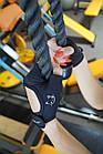 Рукавички для фітнесу і важкої атлетики PowerPlay 2004 жіночі чорні XS, фото 9