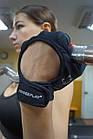 Рукавички для фітнесу і важкої атлетики PowerPlay 2004 жіночі чорні XS, фото 10