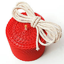 Гніт свічковий плетений діаметр 4 мм ціна за 1 метр