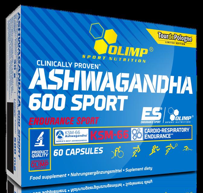 Olimp Ashwagandha 600 Sport (60 caps)