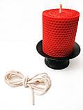 Гніт свічковий плетений діаметр 4 мм ціна за 1 метр, фото 3