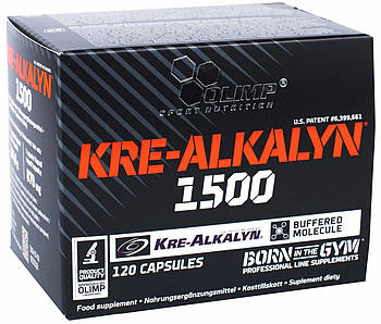 Креатин Olimp Kre-Alkalyn 1500 120caps