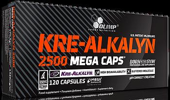 Креатин Olimp Kre-Alkalyn Mega Caps 2500 caps 30