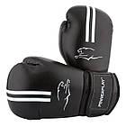 Боксерські рукавиці PowerPlay 3016 Чорно-Білі 10 унцій, фото 3