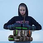 Боксерські рукавиці PowerPlay 3016 Чорно-Білі 10 унцій, фото 8