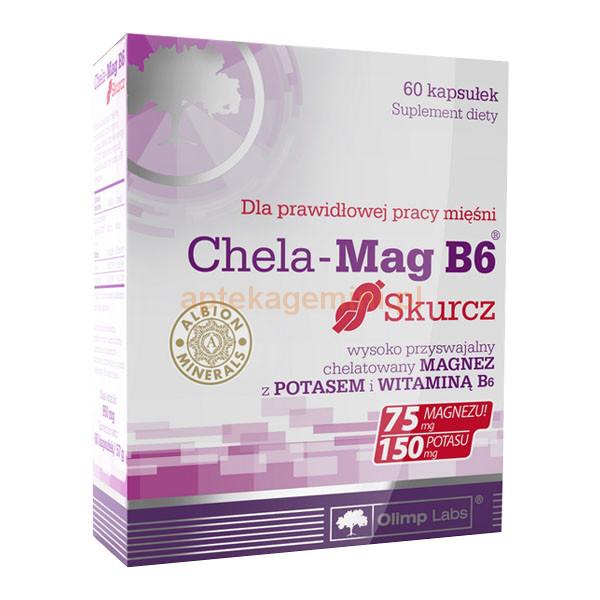 Витамины и Минералы Olimp Chela-Mag B6 Skurcz (60 caps)
