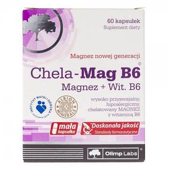 Витамины и минералы  Olimp Chela Mag B6 Magnez + Wit B6  (60 caps)