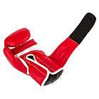 Боксерські рукавиці PowerPlay 3019 Червоні 10 унцій, фото 8