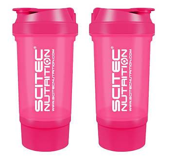 Шейкер Scitec Nutrition Traveler Shaker (500ml pink)