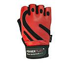 Рукавички для фітнесу PowerPlay 1586 Червоні M, фото 2