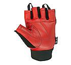 Рукавички для фітнесу PowerPlay 1586 Червоні M, фото 3