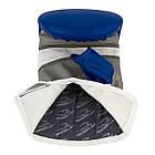 Снарядні рукавички PowerPlay 3038 Синьо-сірі M, фото 6