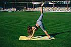 Килимок для фітнесу і йоги PowerPlay 4011 (173* 61*0.8) Жовтий, фото 7