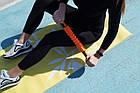 Килимок для фітнесу і йоги PowerPlay 4011 (173* 61*0.8) Жовтий, фото 8