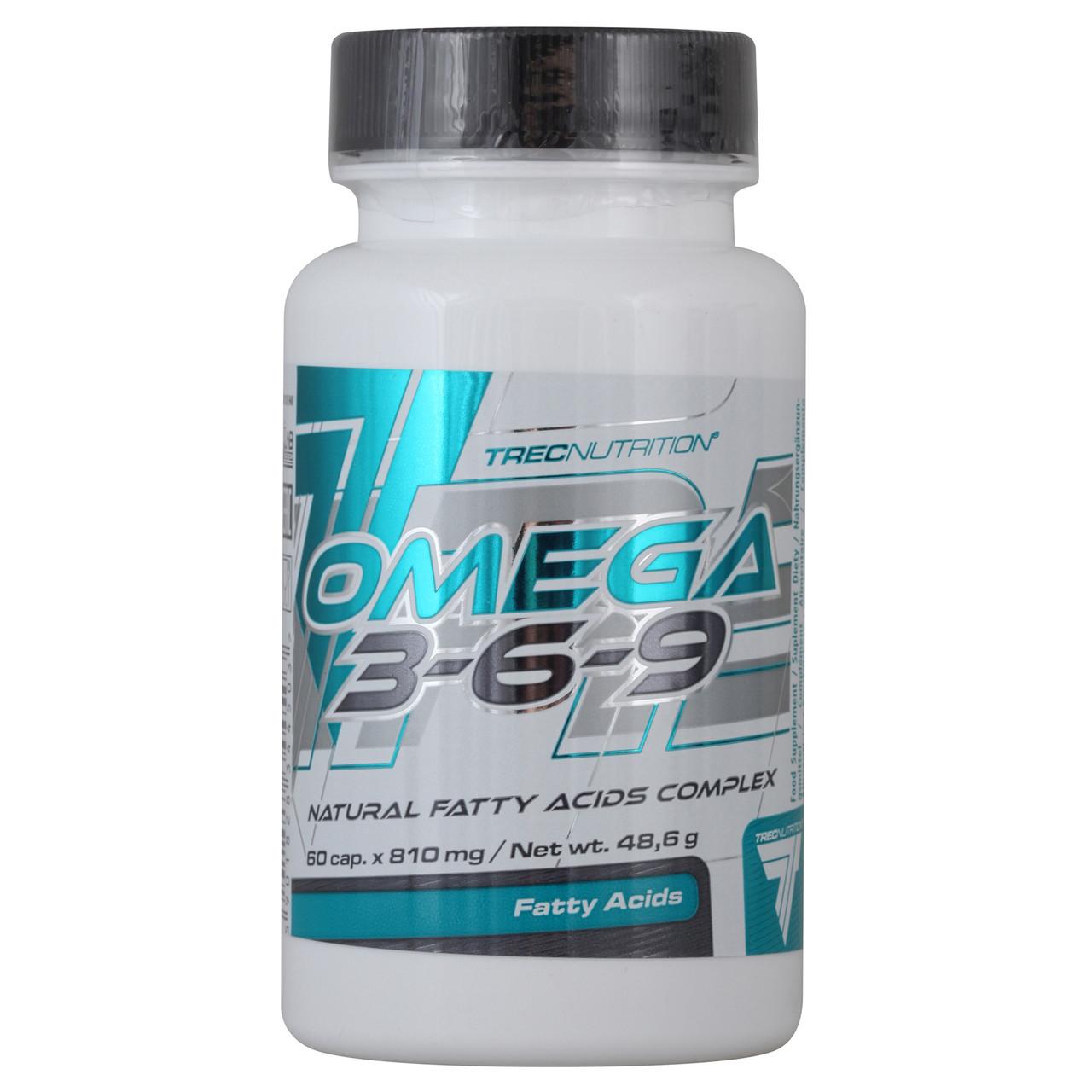 Витамины и минералы Trec Nutrition Omega 3-6-9 (120 caps)