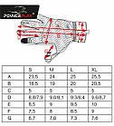 Велорукавички PowerPlay 6551 Салатово-сірі XL, фото 7