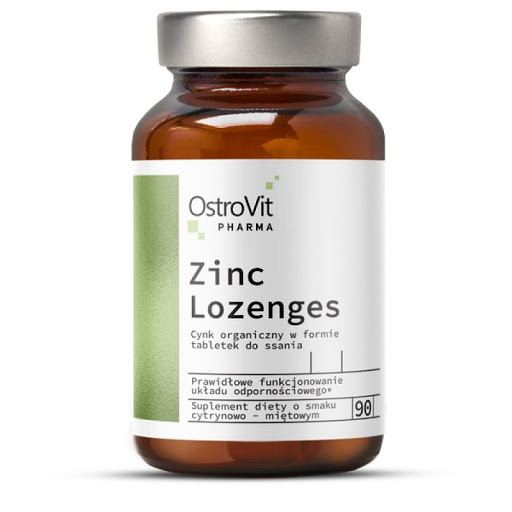 Витамины и минералы Ostrovit  Pharma Zinc Lozenges ( (90 tabs)