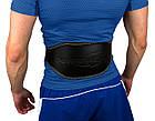 Пояс для важкої атлетики PowerPlay 5086 Чорно-Коричневий XS, фото 2