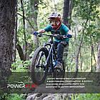 Велорукавички PowerPlay 5473 Синьо-жовті 3XS, фото 7